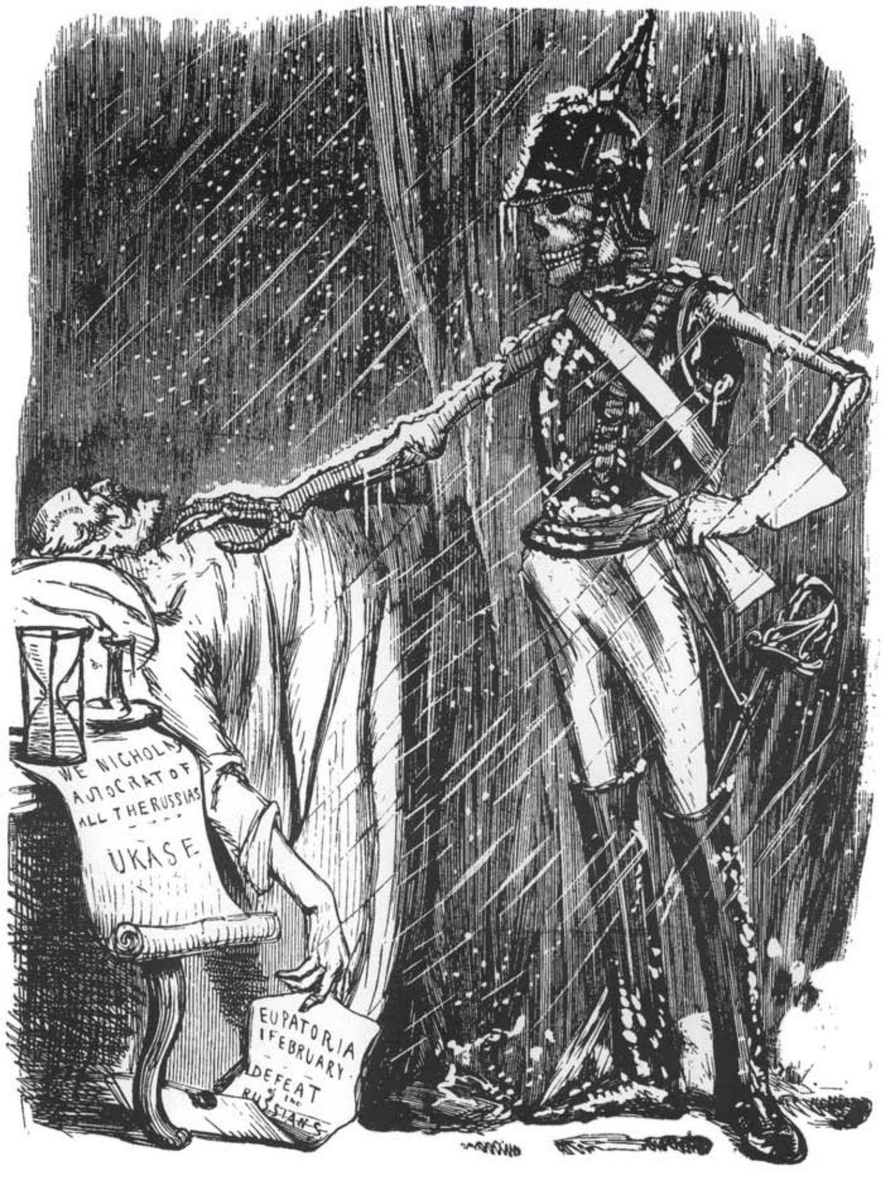 Карикатура смерть николая 1 (1)