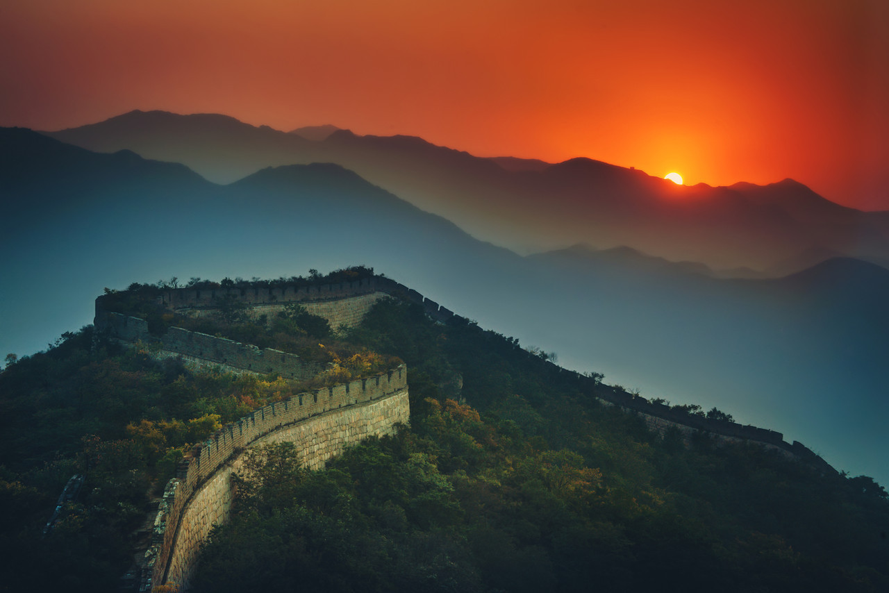 Trey-Ratcliff-China-Great-Wall-Half-Sunset-X2