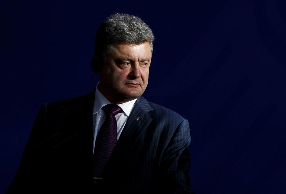 Merkel Meets With New Ukrainian President Poroshenko