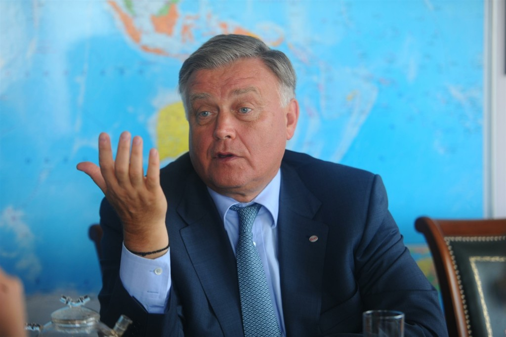 President of the Russian Railways company Vladimir Yakunin