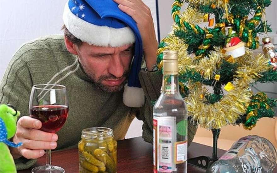 Чтобы в новый год не опьянеть от