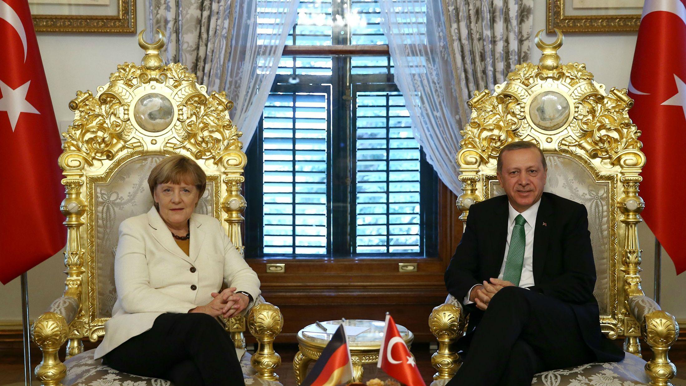 Германия vs Турция— что стоит за конфликтом натовских держав
