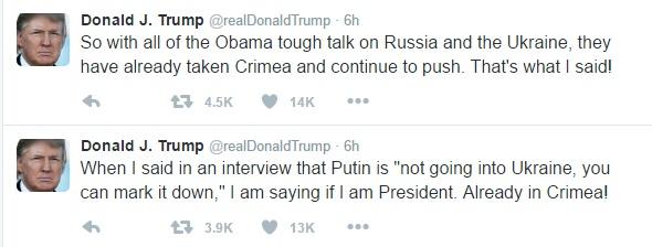 Трамп снова оскандалился из-за России – на этот раз в связи с войной в Украине