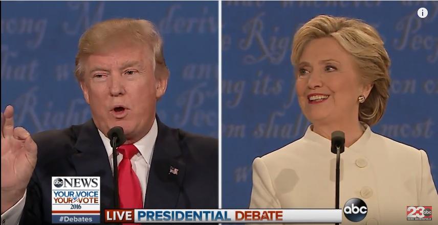 Трамп vs Клинтон, финальные дебаты. О домогательствах, ядерном оружии и российских марионетках
