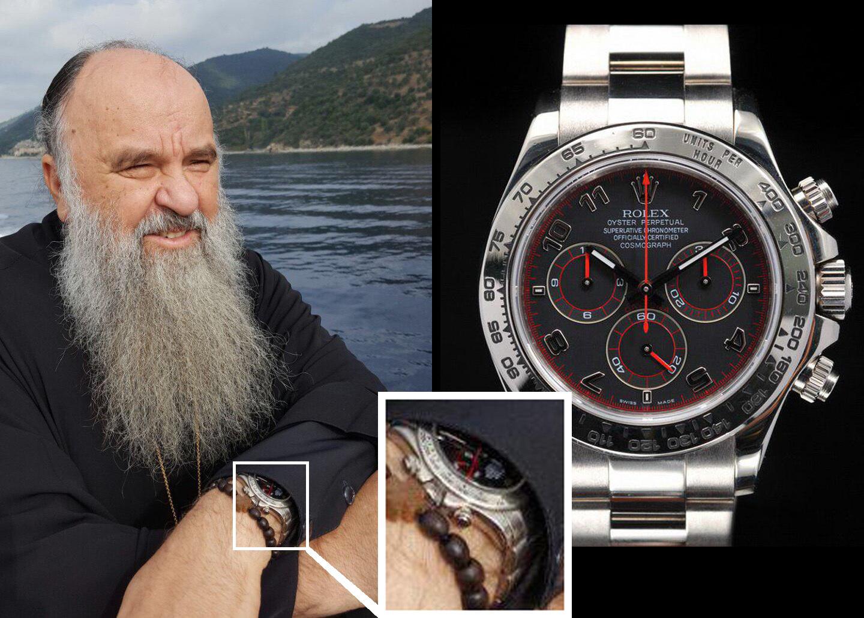 На петербургском митрополите заметили часы, похожие на Rolex для гонщиков за 2,5 миллиона рублей