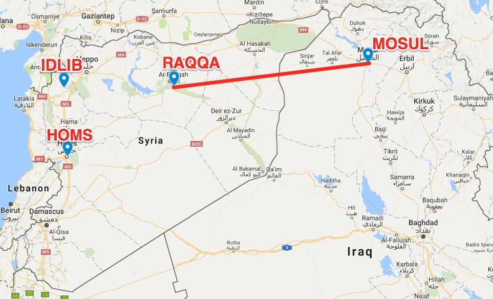 Министр Лавров перепутал север Ирака с западом Сирии