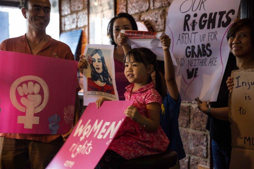 «Женские марши» против Трампа собрали более 2,5 млн человек по всему миру