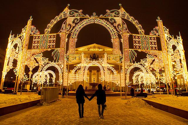 На новогодние украшения Москва потратила 7 млрд руб из бюджета – The ... 0215fbc4118
