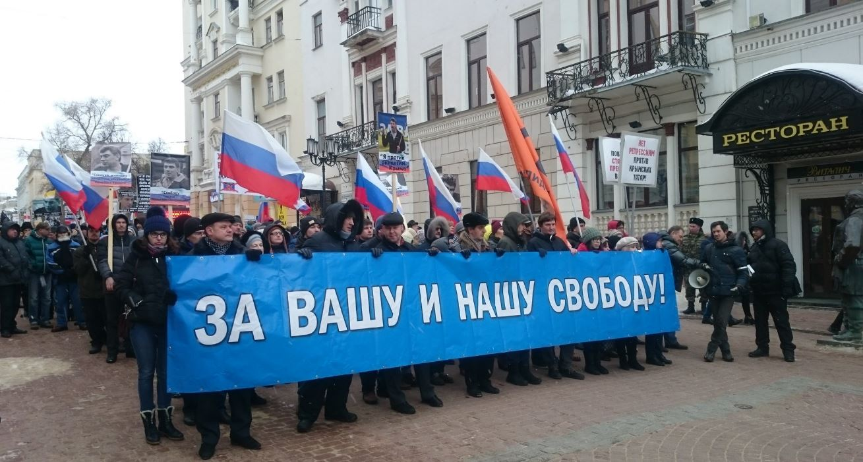 Как прошел марш памяти Бориса Немцова в разных городах России. Фото