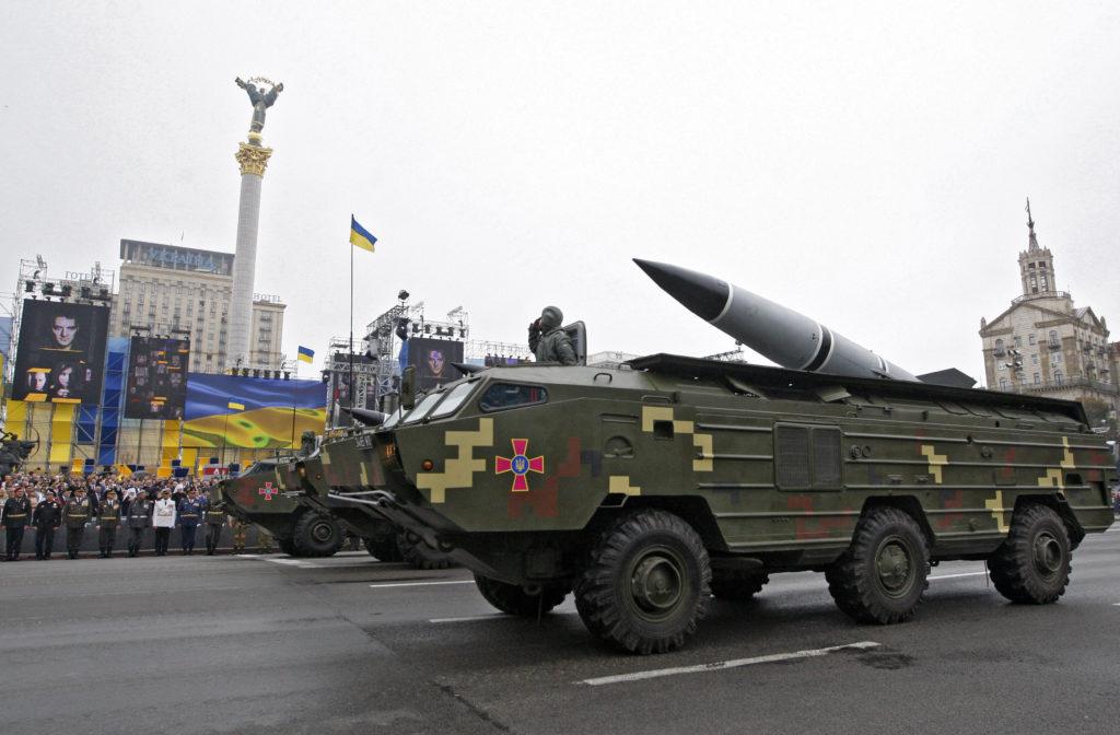 Тактический ракетный комплекс «Точка-У» ВС Украины