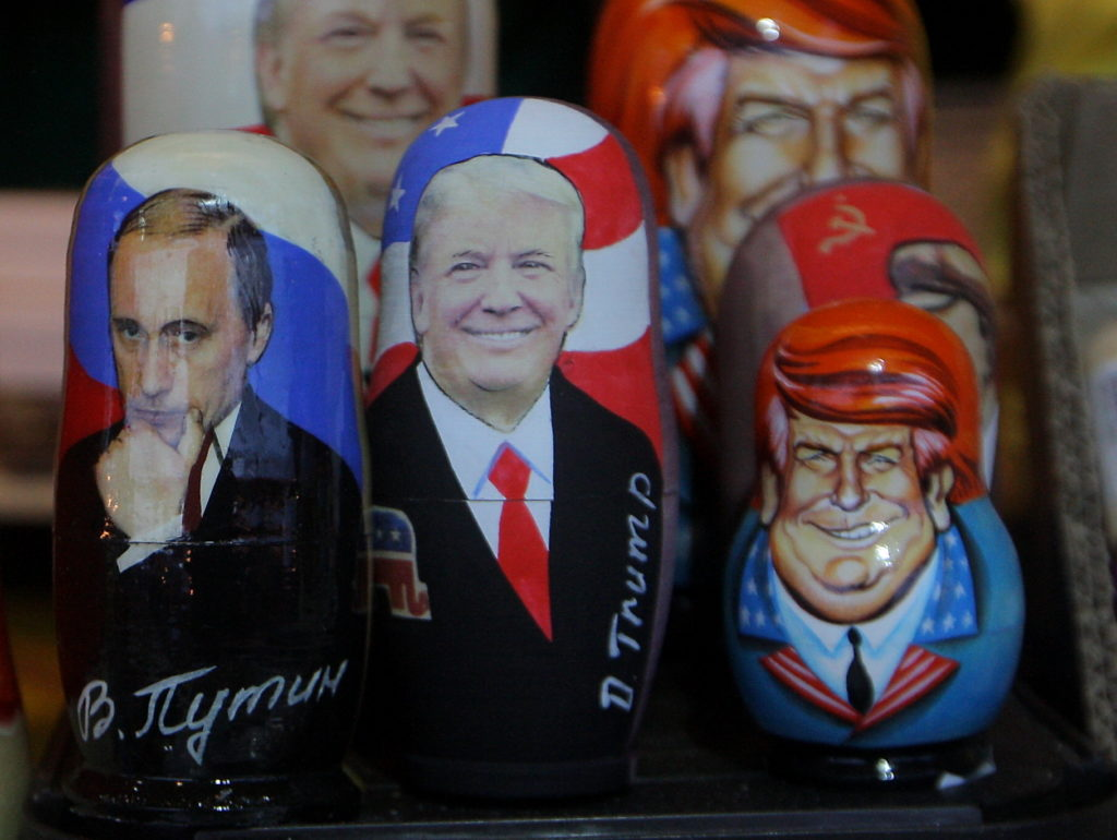 Russia Trump Matryoshka Doll