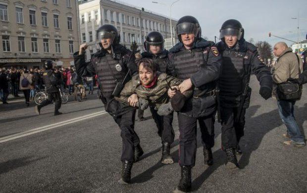 Акция против коррупции в Москве1