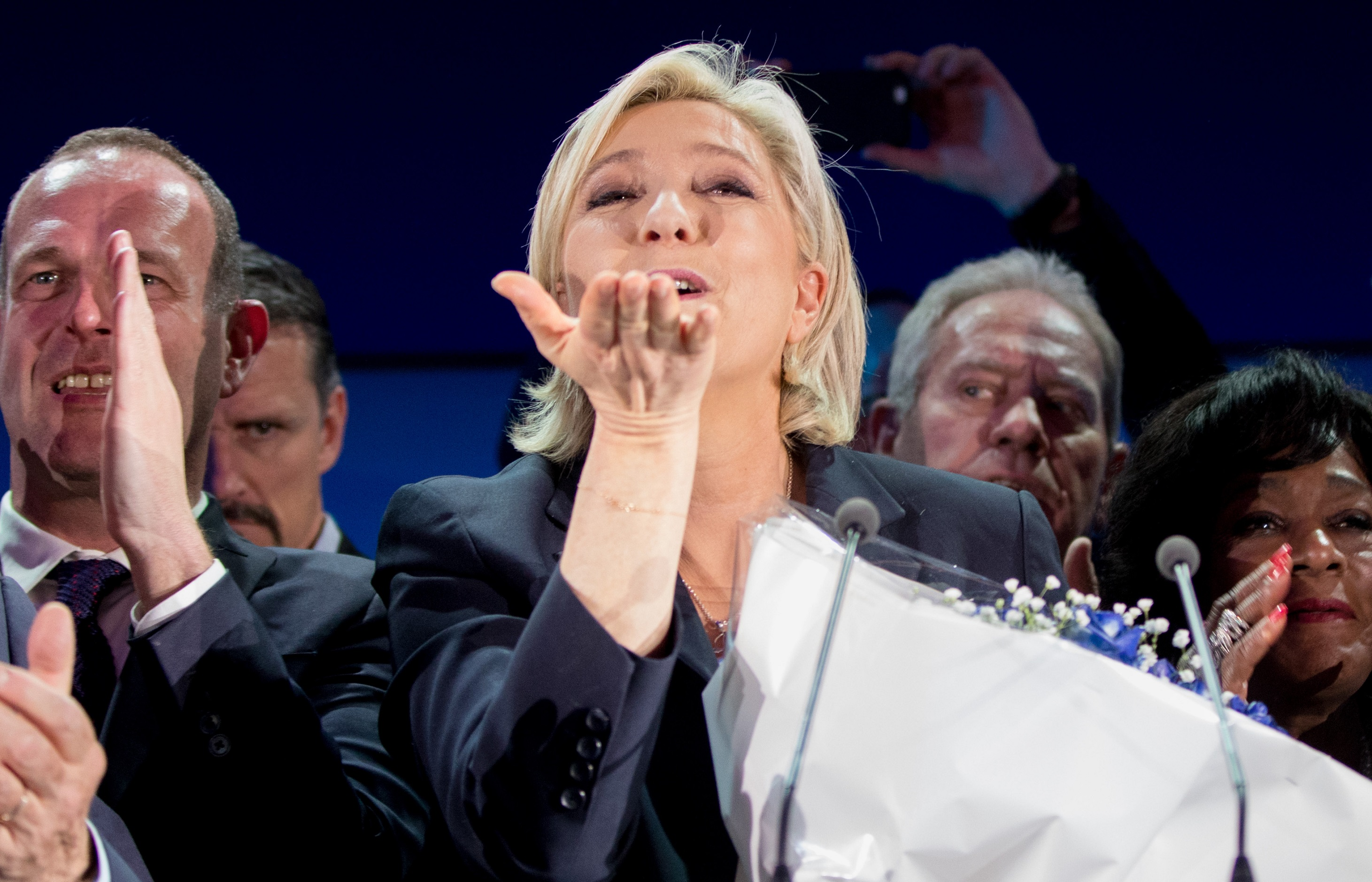 French Presidential Elections 2017 - Marine Le Pen Wins First Round