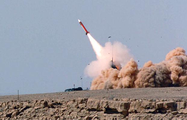 Ізраїль збив літак який прилетів з боку Сирії