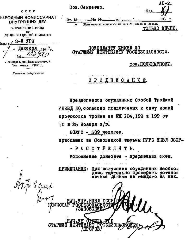 «Мемориал»: Дело против Дмитриева заказали сталинисты, которым его работа поперек горла