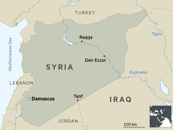 Financial Times: США, Россия и Иран сталкиваются в Восточной Сирии