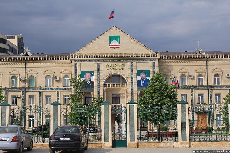 Мэрию Грозного эвакуировали после звонка оминировании