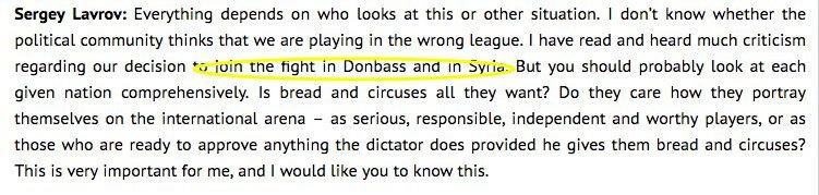 Лавров случайно заявил об участии России в конфликте на Донбассе