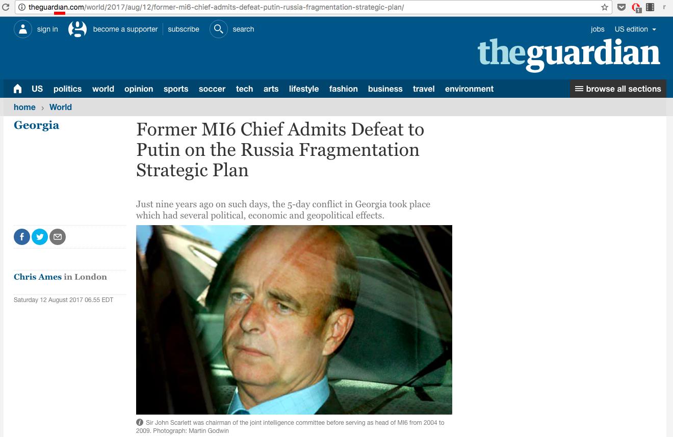 Соловьев сослался на несуществующее интервью с «британским разведчиком»