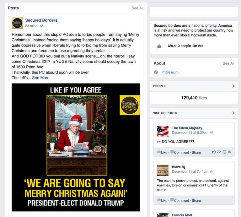 NYT: российская «фабрика троллей» провела в Facebook скоординированную кампанию перед выборами президента США