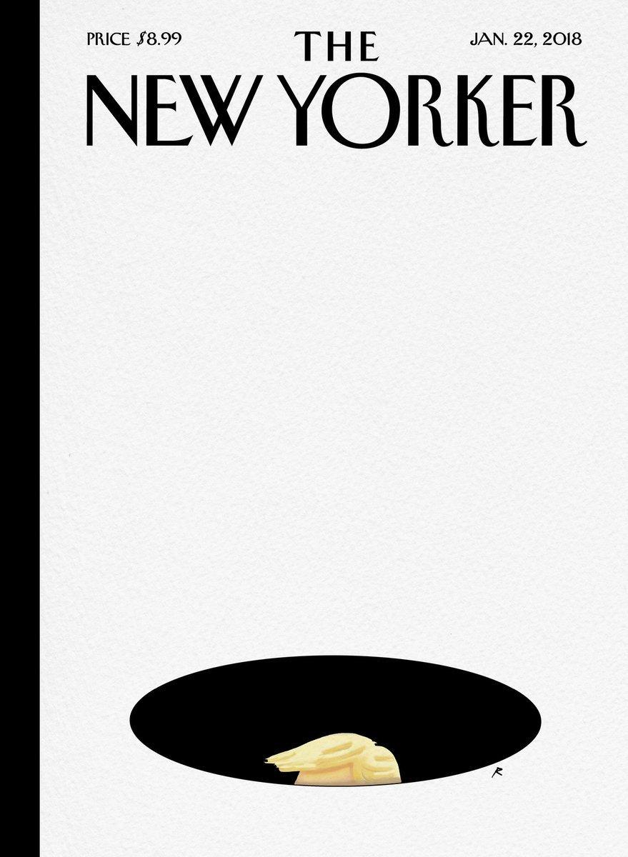 The New Yorker посвятил новую обложку скандальному высказыванию Трампа