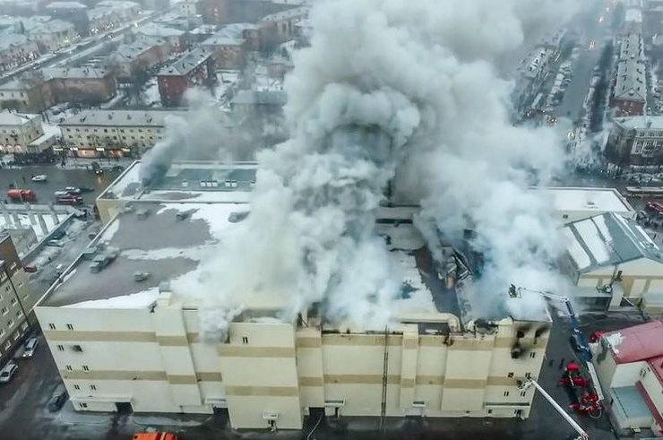 СК завершил расследование дела о пожаре в «Зимней вишне»