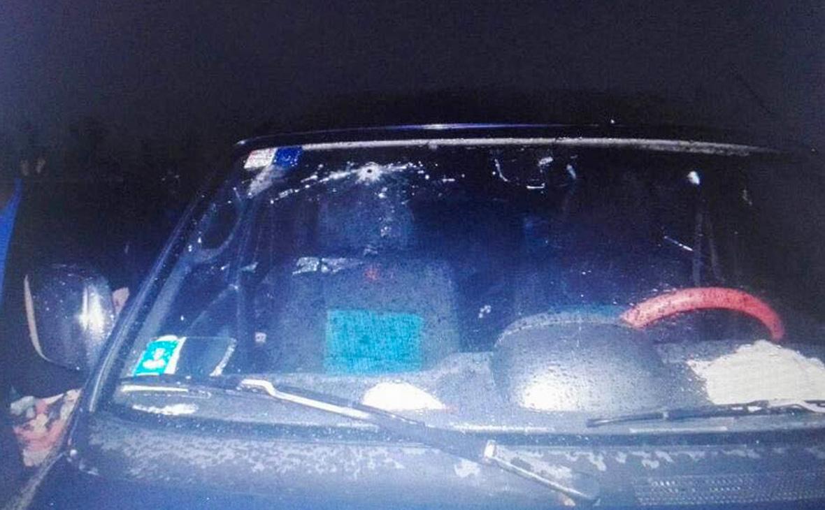Опубликовано фото автомобиля убитых в ЦАР журналистов