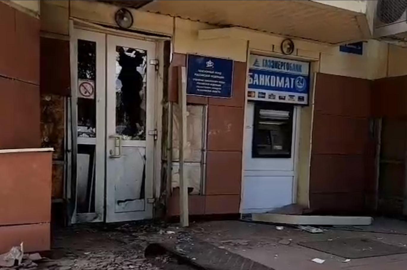 В Калуге взорвали дверь местного отделения Пенсионного фонда