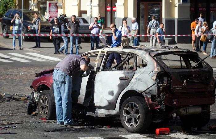 Генпрокуратура Украины не нашла в убийстве журналиста Шеремета признаков теракта