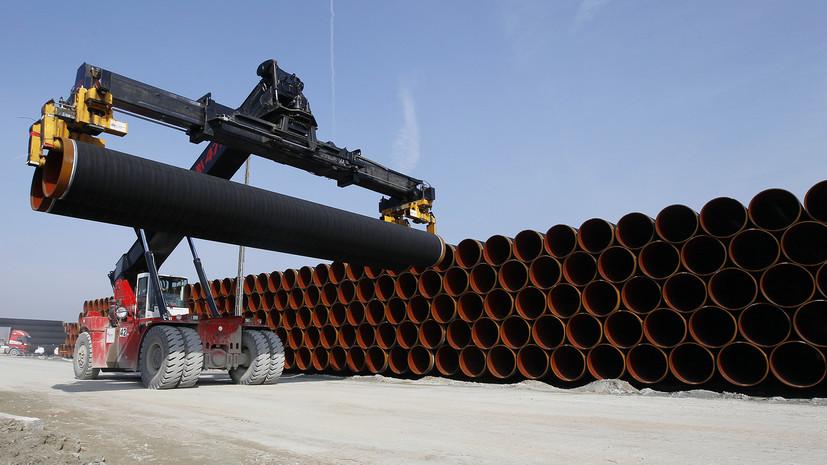 Партнер «Северного потока-2» приступил к строительству газопровода