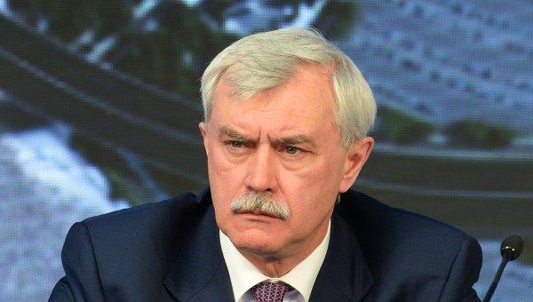 Губернатор Петербурга Полтавченко принял решение идти на новый срок— РБК