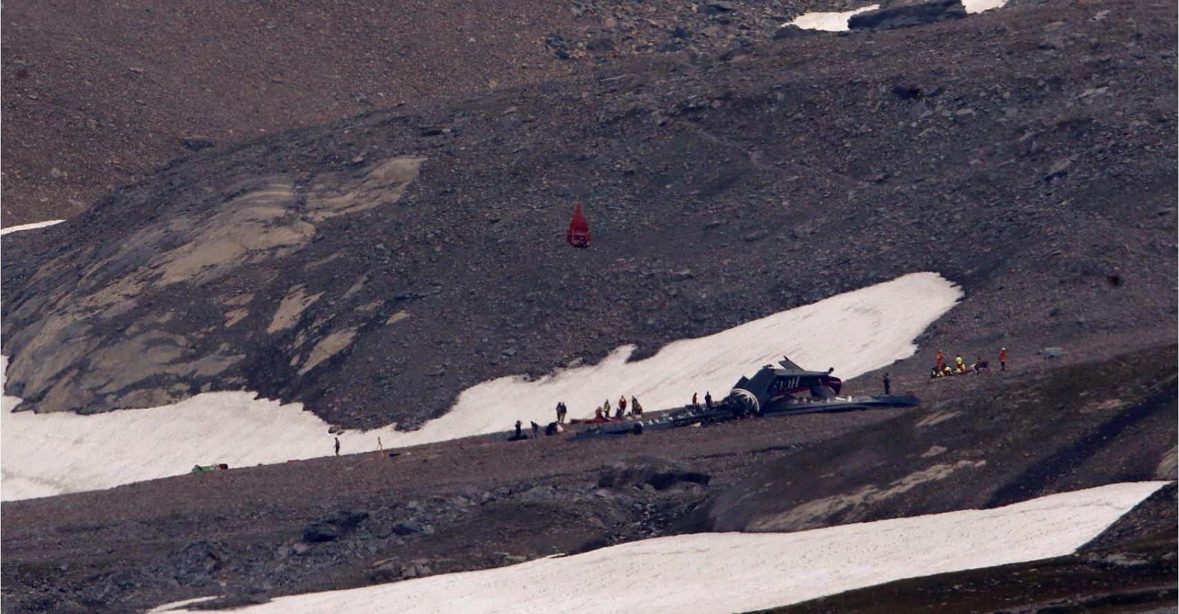 В Альпах разбился самолет с 20 пассажирами на борту, все они погибли— Reuters