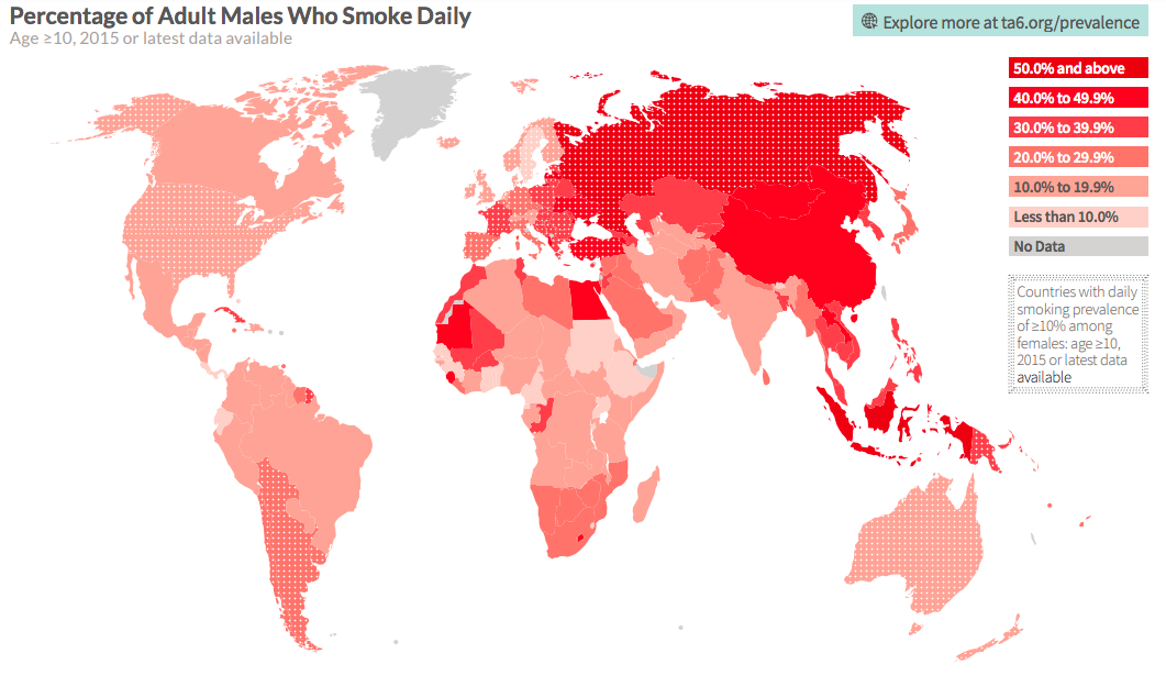 Дым против отечества. Как табачные лоббисты убивают россиян, а власти им в этом помогают