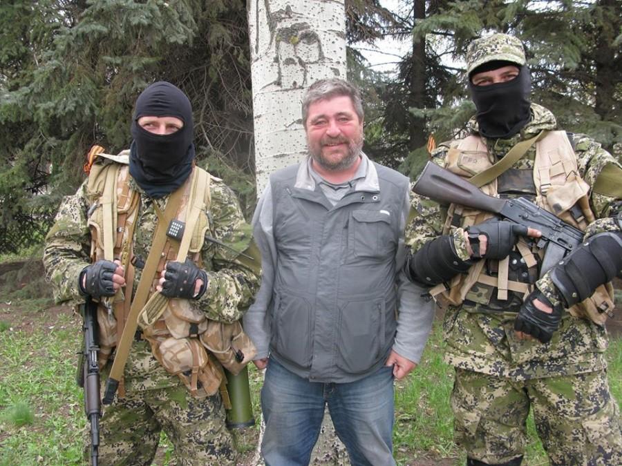 Сергей Гранкин, Славянск, 2014 год