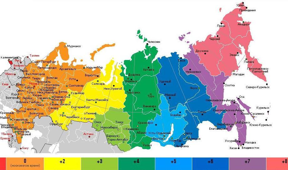Волгоградская область переходит в другой часовой пояс