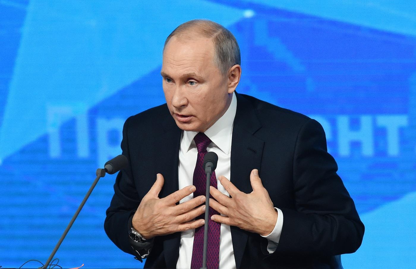 «Сила — она в этом, как его...» 12 примеров того, как Путин обманул россиян в ходе пресс-конференции