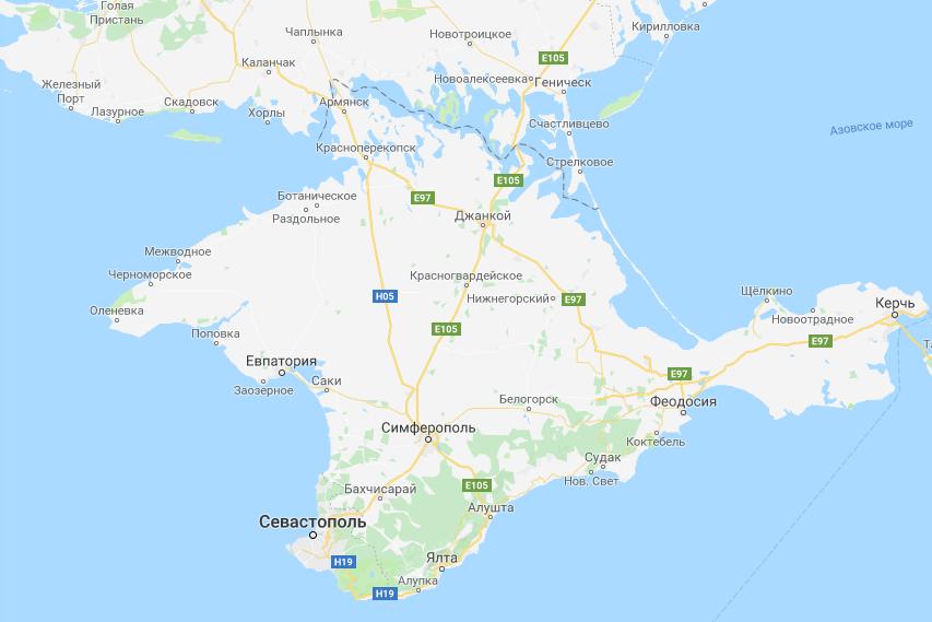 Володин обвинил Google в признании Крыма украинским. Оказалось — спикер просто не умеет пользоваться картой