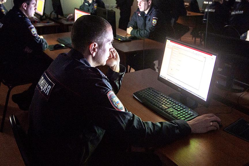 полиция компьютеры