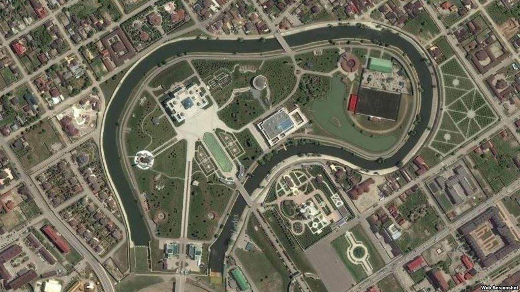 резиденция Кадырова