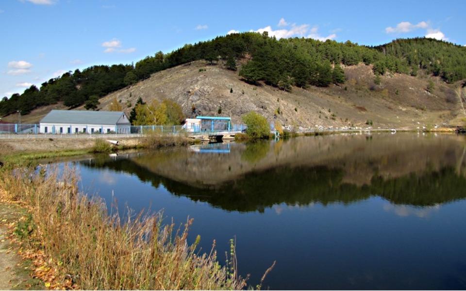 плотина Алтай