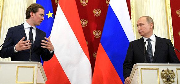 Путин-ферштееры. Мартин Малек о том, как ультраправые и популисты сделали Австрию филиалом Кремля