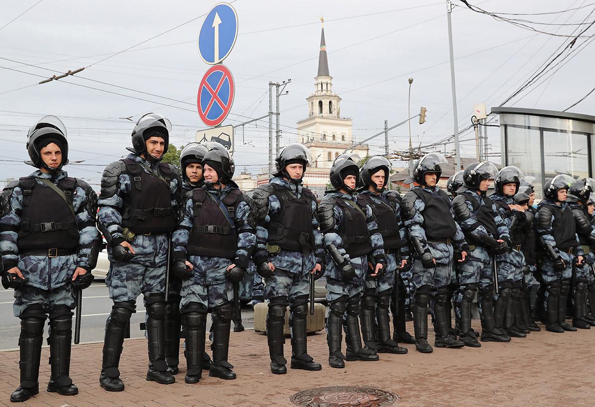 Митинг в Москве может закончиться очередными беспорядками
