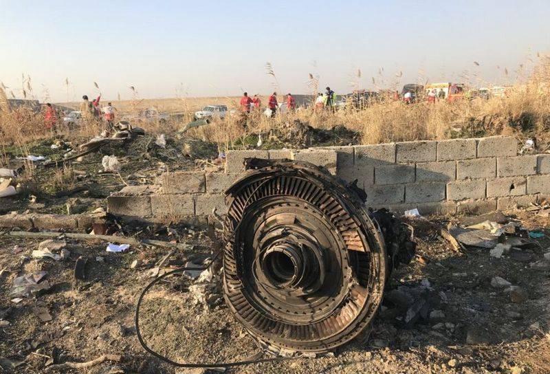 Украина расследует крушение «Боинга» в Иране по трем уголовным статьям