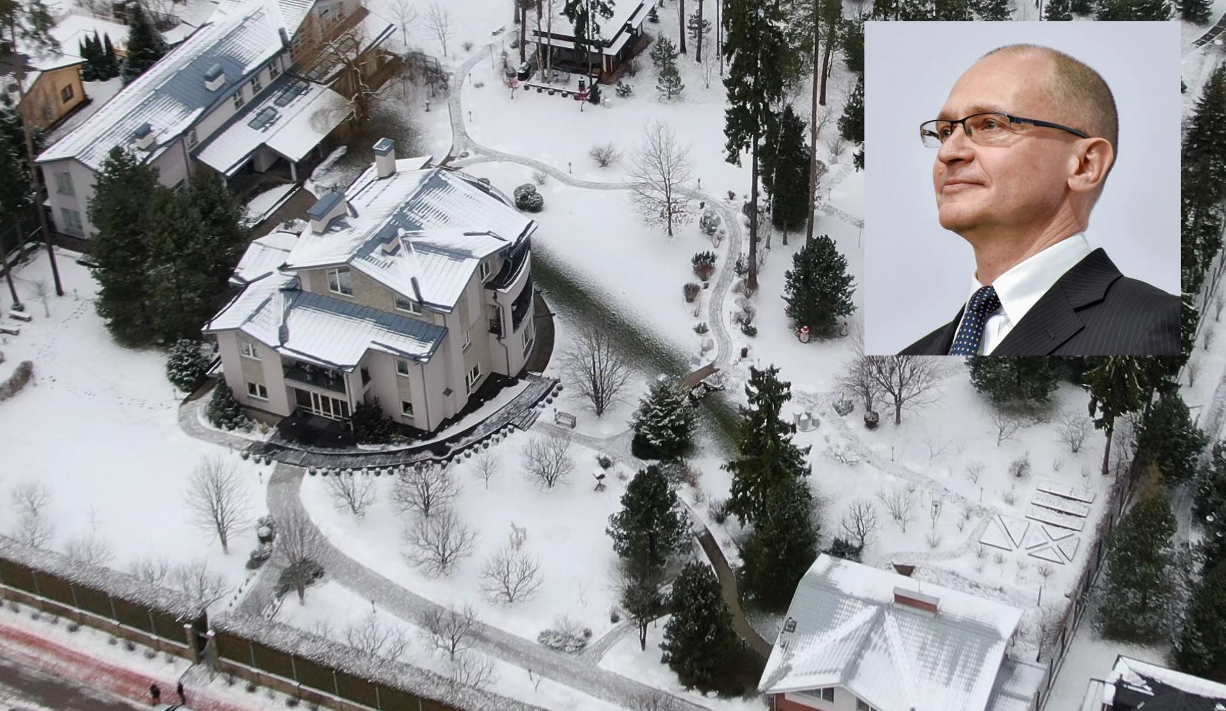 «Проект» оценил владения Сергея Кириенко на Рублевке в 1 млрд рублей. Это совпадает с выводами The Insider